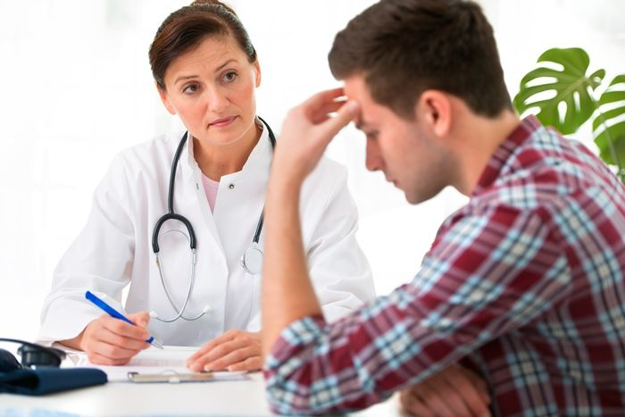 Больной на приеме у врача
