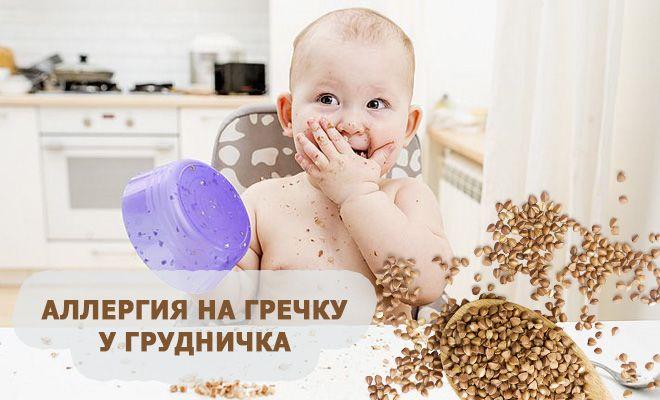 Аллергия на гречку у грудничка