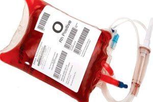 Лечебные действия - переливание крови