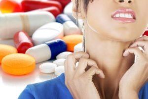 Реакция на антибиотики