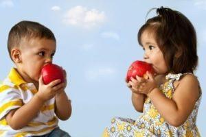 Реакция на яблоки у ребенка