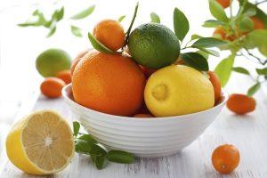 Цитрусовые как источник витамина С