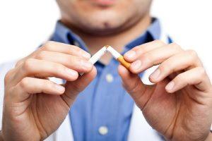 Реакция на сигареты