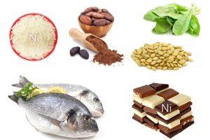 Никель в продуктах