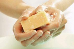 Реакция на мыло