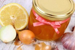 Лук, чеснок, лимон, мед от насморка