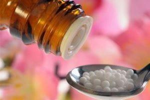 Прием гомеопатических препаратов