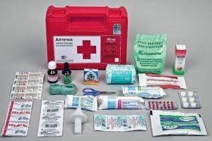 Состав антишоковой аптечки